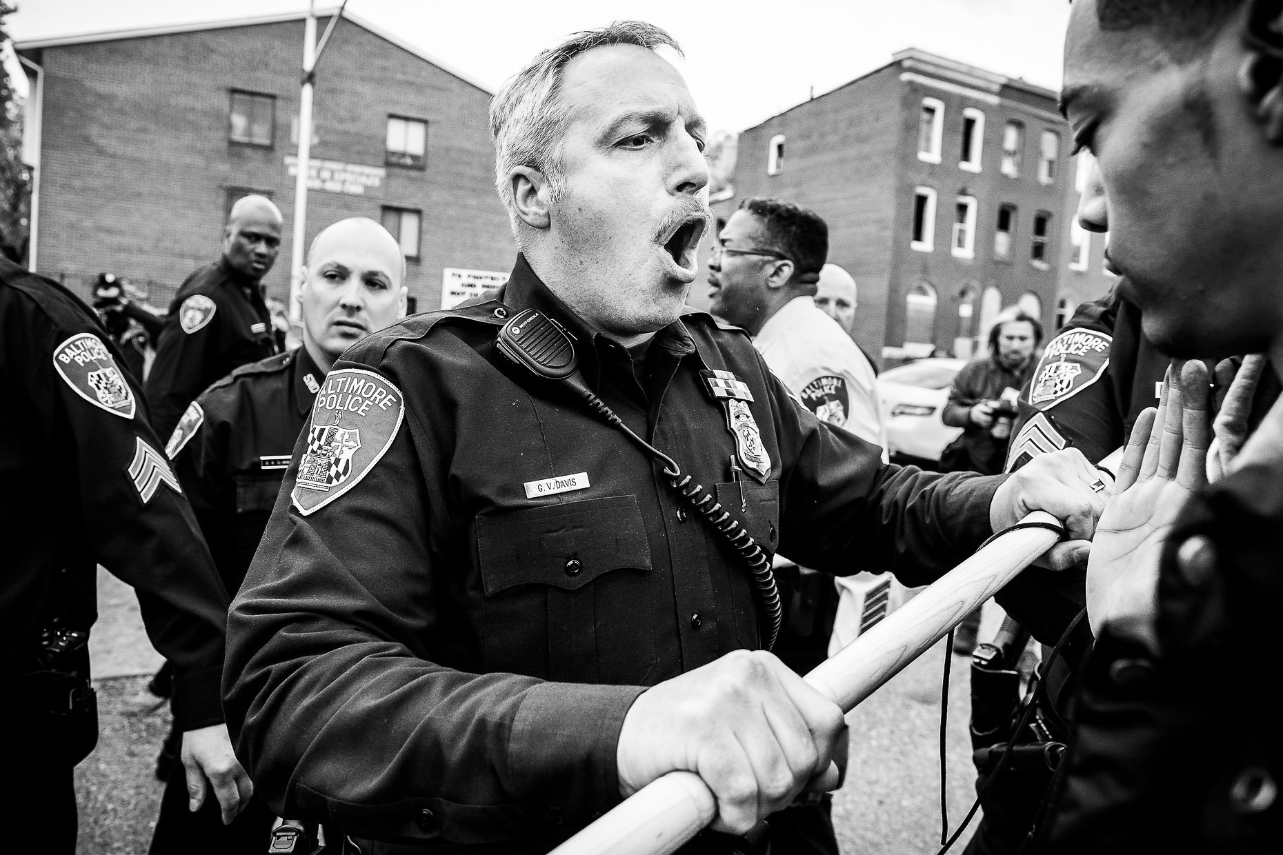 Baltimore Responds - The Baltimore Uprising - Photojournalism 12