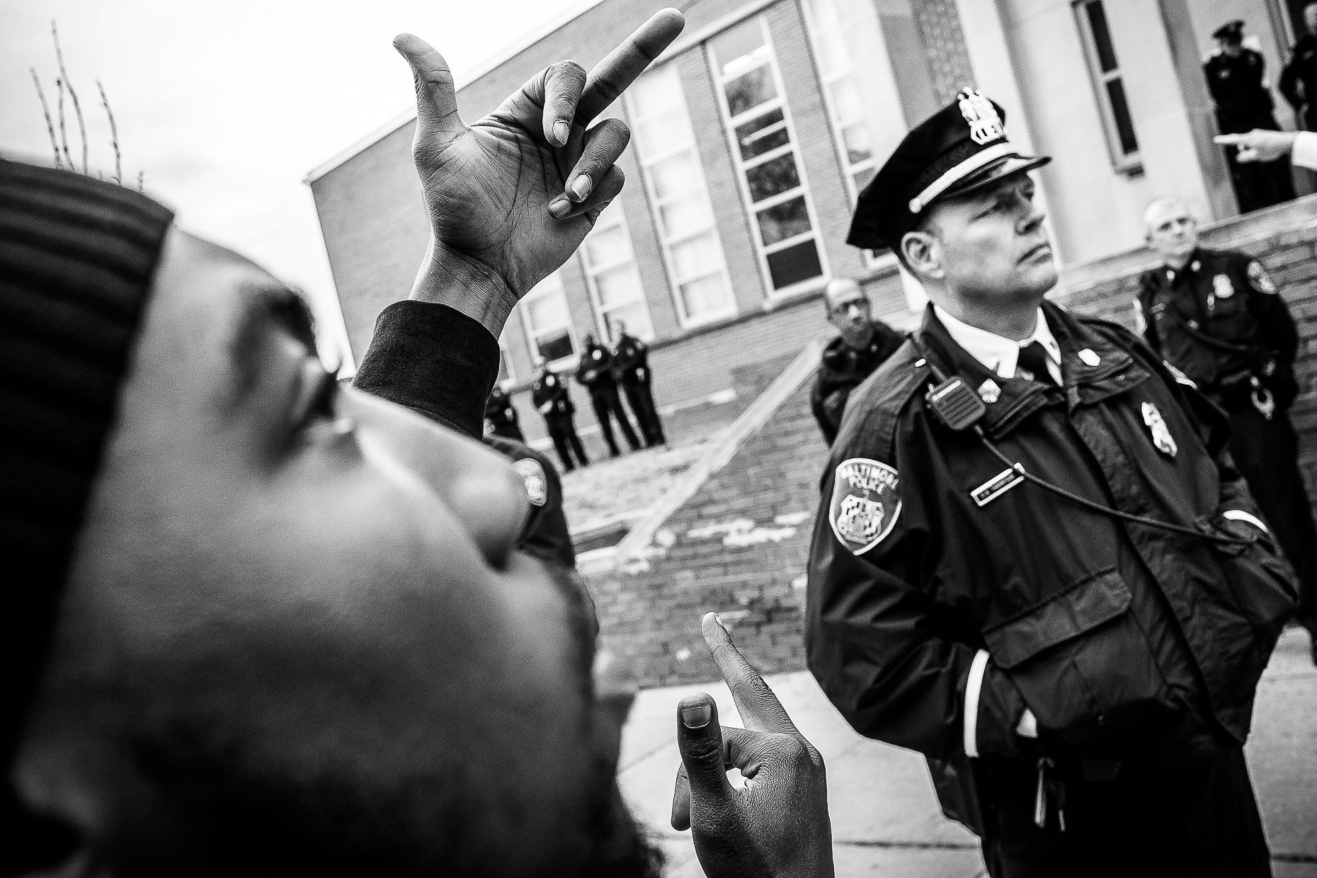 Baltimore Responds - The Baltimore Uprising - Photojournalism 13