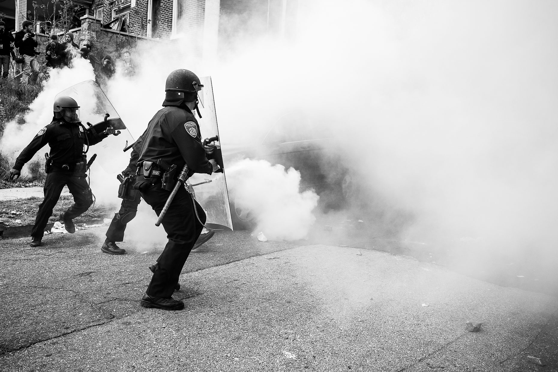 Baltimore Responds - The Baltimore Uprising - Photojournalism 21