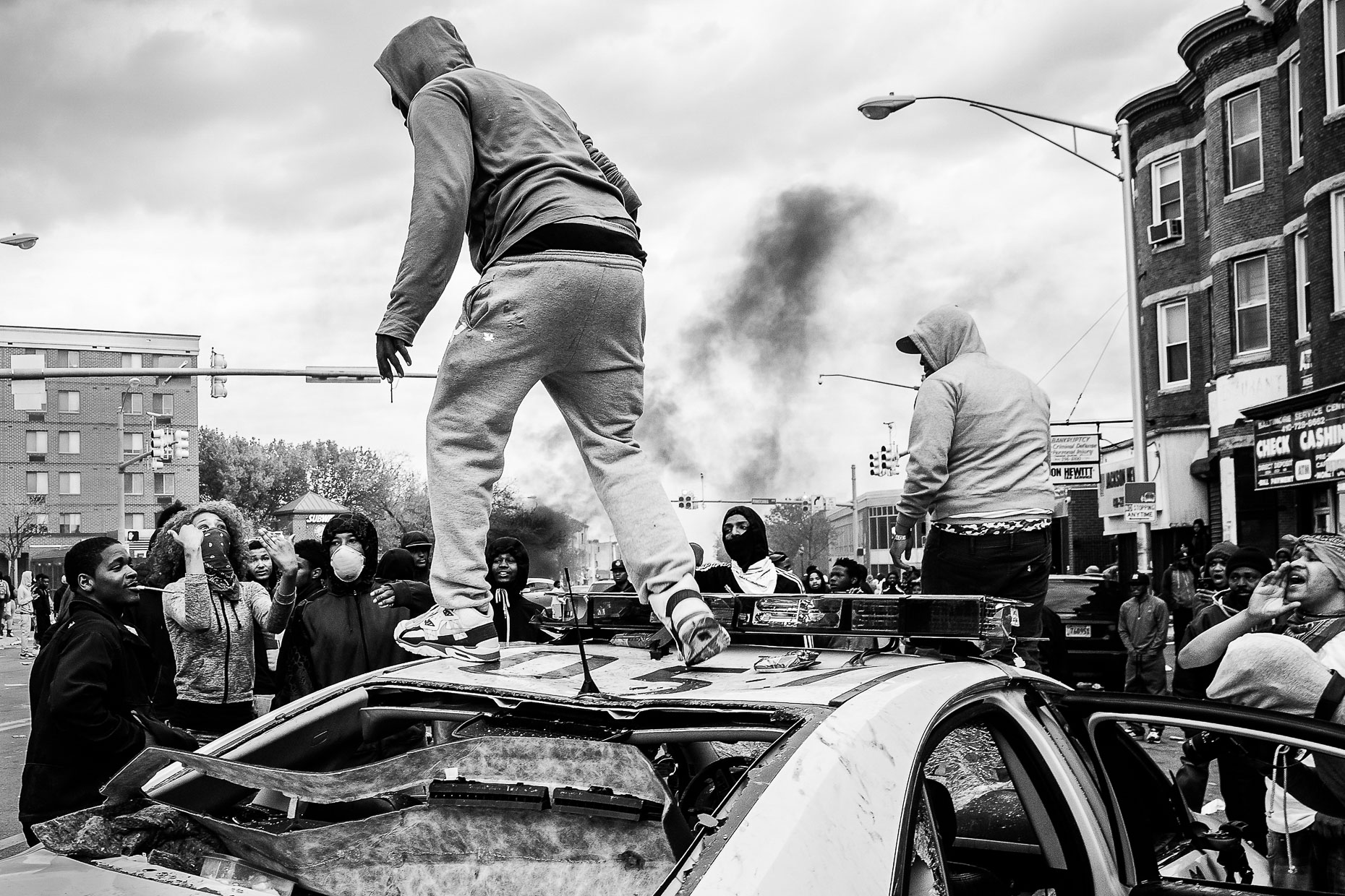 Baltimore Responds - The Baltimore Uprising - Photojournalism 28