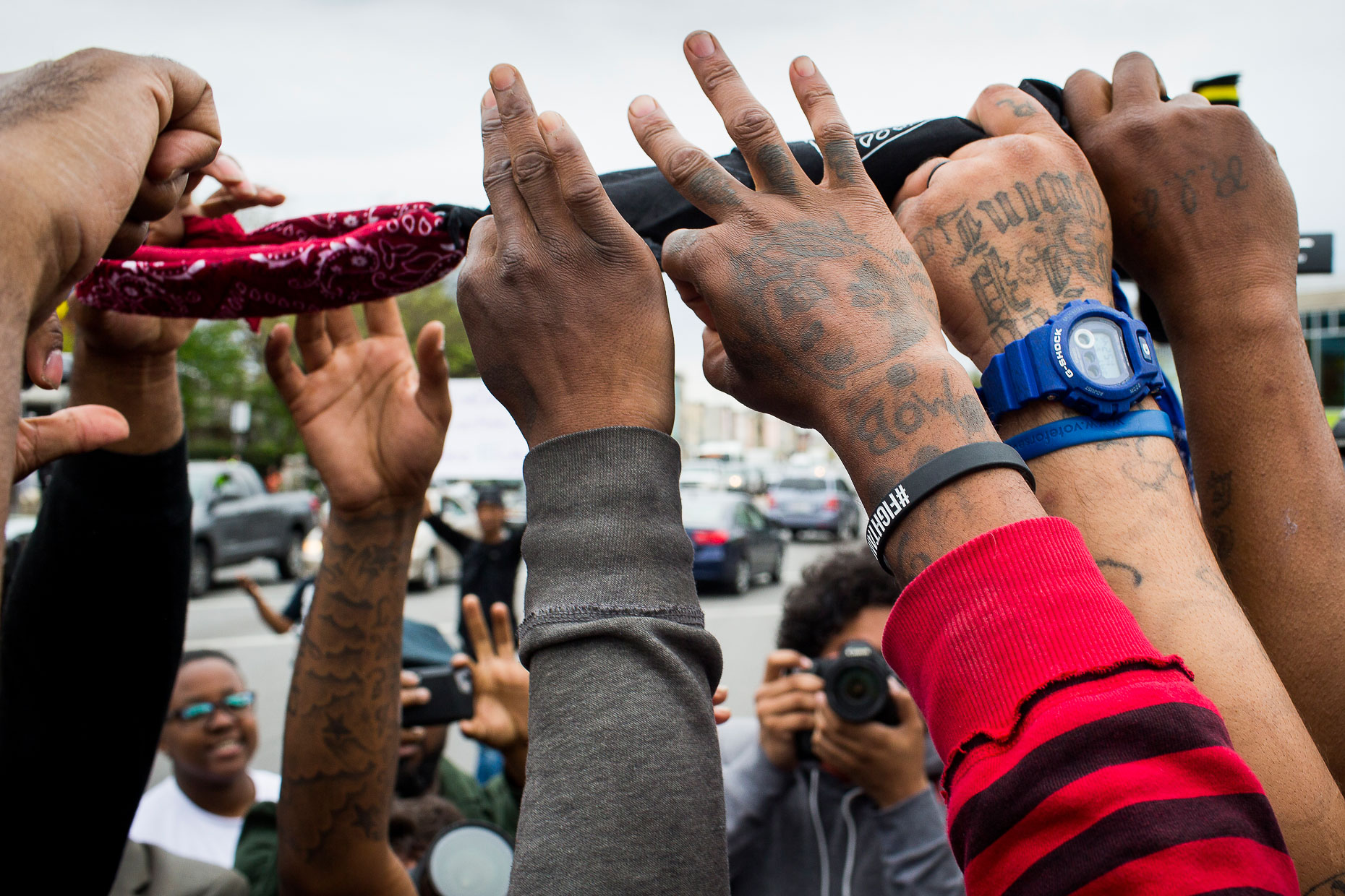 Baltimore Responds - The Baltimore Uprising - Photojournalism 30