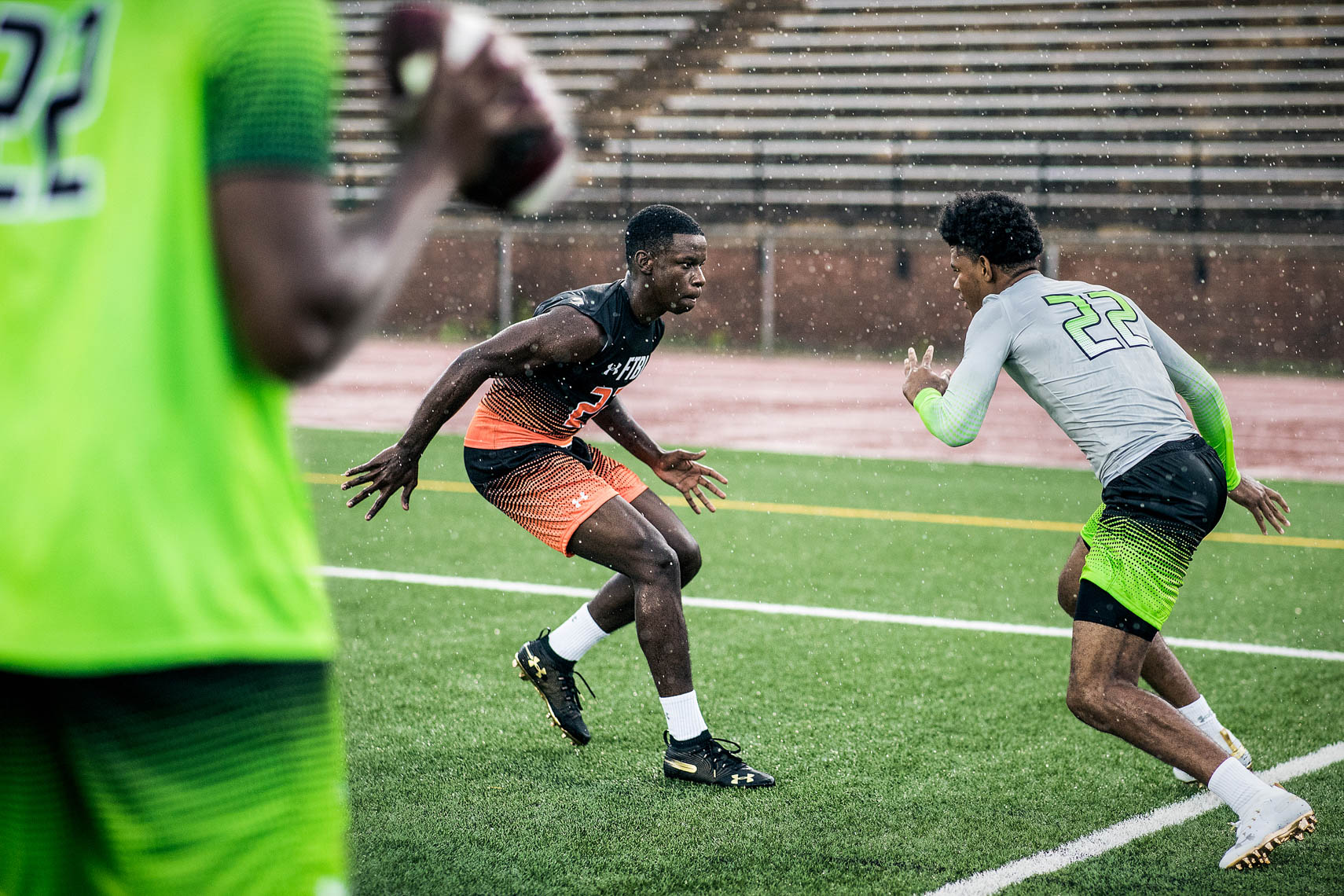 Under Armour 7 on 7 Football Team Sports