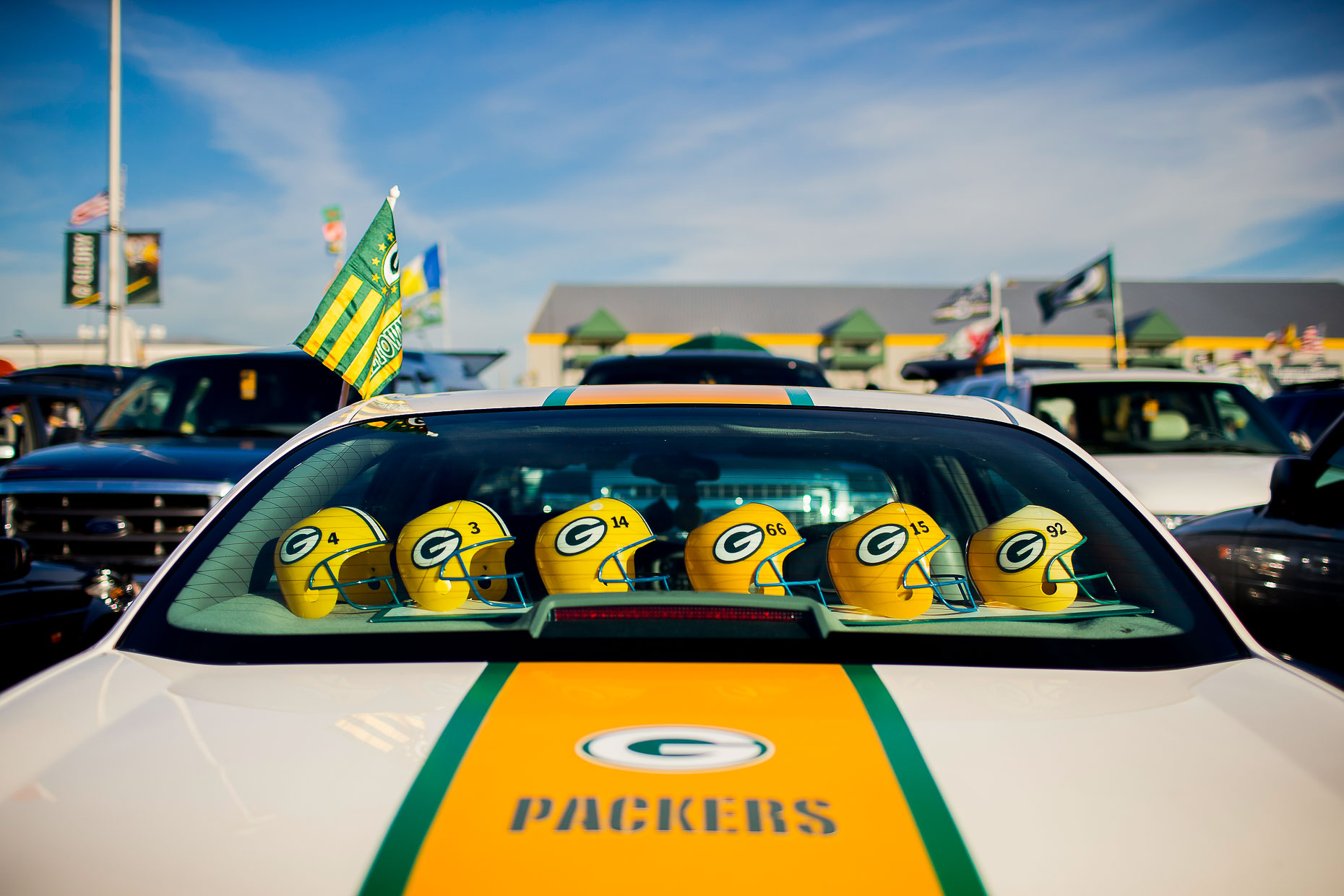 Green Bay Packers - Commercial Sports Photographer 01