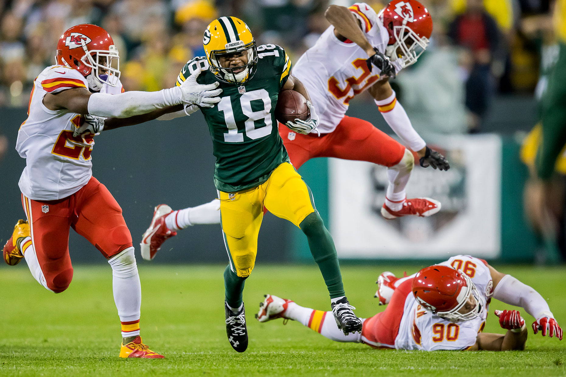Green Bay Packers - Commercial Sports Photographer 24