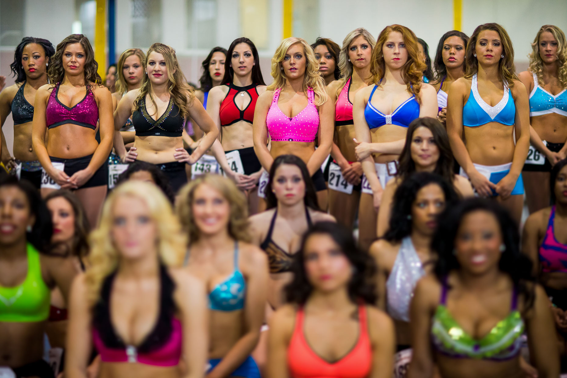 NFL Cheerleading - Commercial Sports Photographer 04