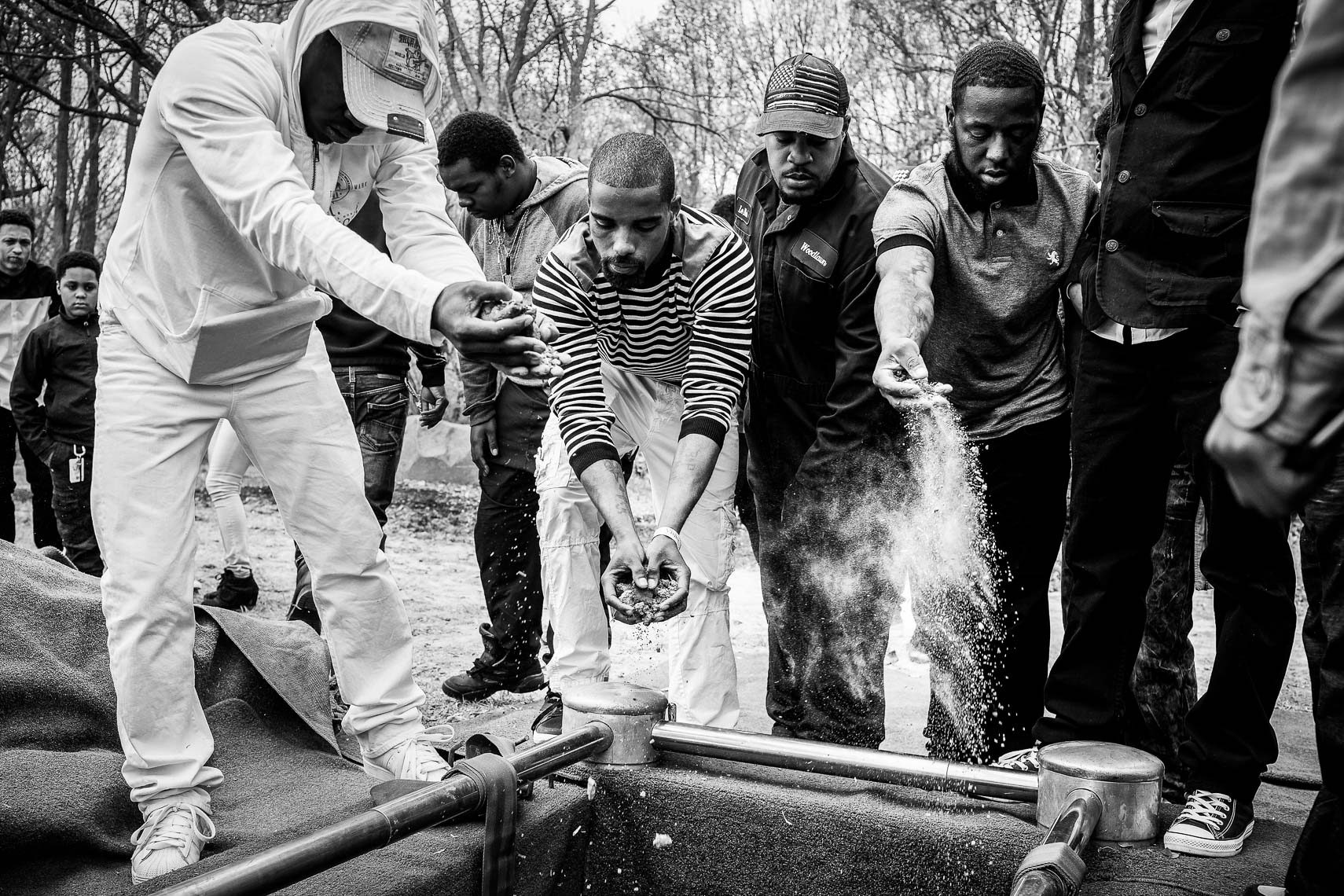 Baltimore Uprising photography by baltimore based photojournalist and reportage photographer in baltimore maryland during the baltimore riots after baltimore police death of baltimore youth Freddie Gray