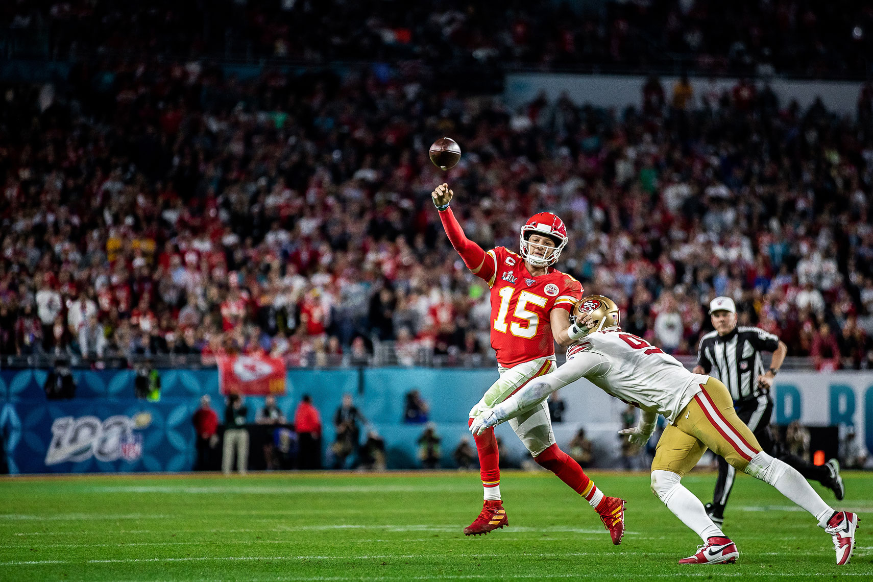 Super Bowl MVP Patrick Mahomes Sports Athlete Lifestyle NFL Super Bowl LIV Photography