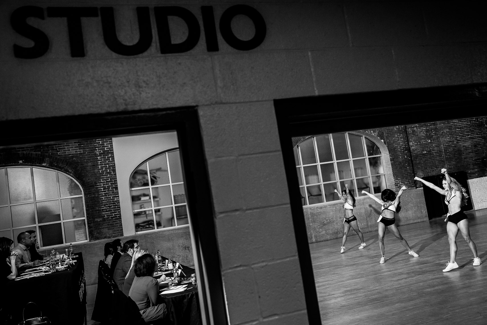 makingthecut14_ NFL cheerleaders cheerleading is a sport Baltimore Ravens cheerleading tryouts documentary photographer in Baltimore sports photojournalism documentary photos professional cheerleaders athletes cheerleading photos