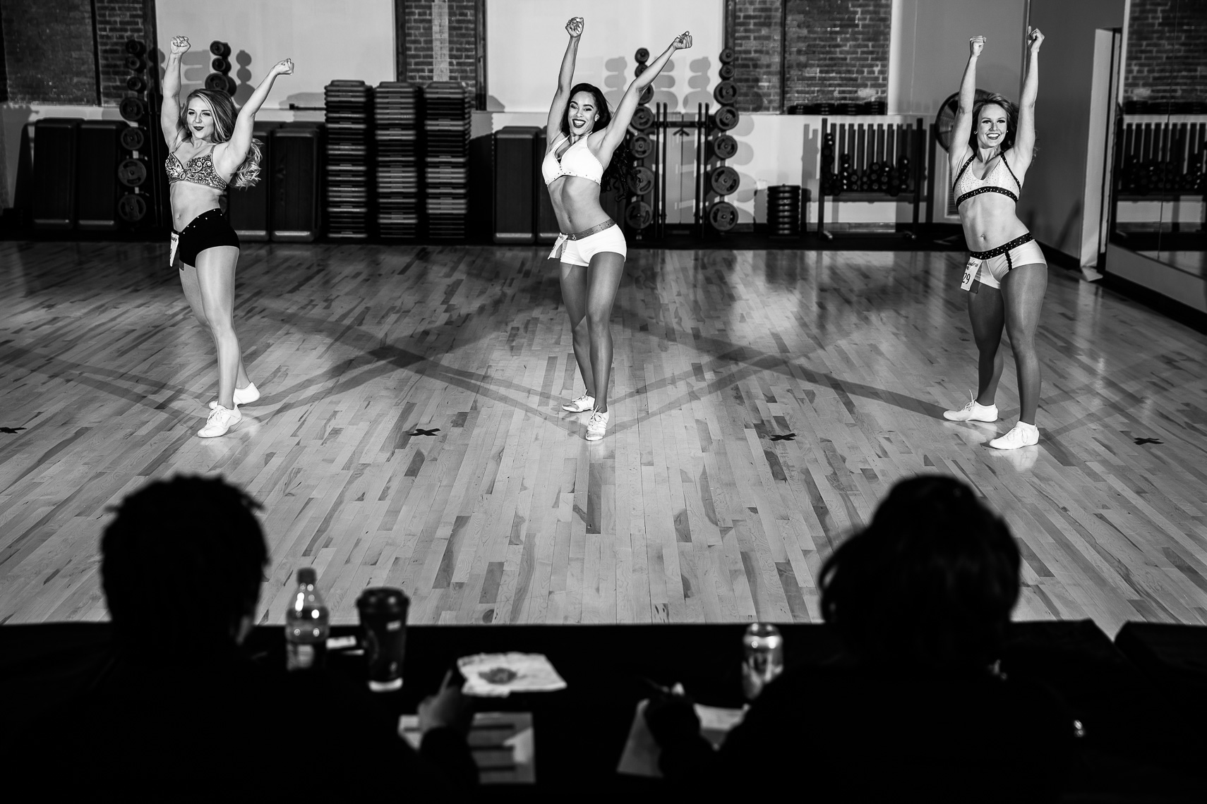 makingthecut18_ NFL cheerleaders cheerleading is a sport Baltimore Ravens cheerleading tryouts documentary photographer in Baltimore sports photojournalism documentary photos professional cheerleaders athletes cheerleading photos