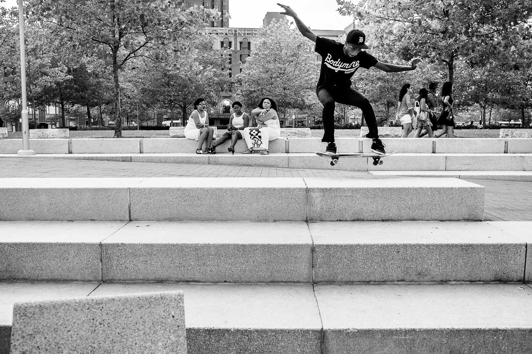milksquad02_Milksquad was a group of African American Baltimore youth skateboarders sponsored by Milkcrate Athletics NYC who skateboard in Baltimore city youth culture documentary photography project