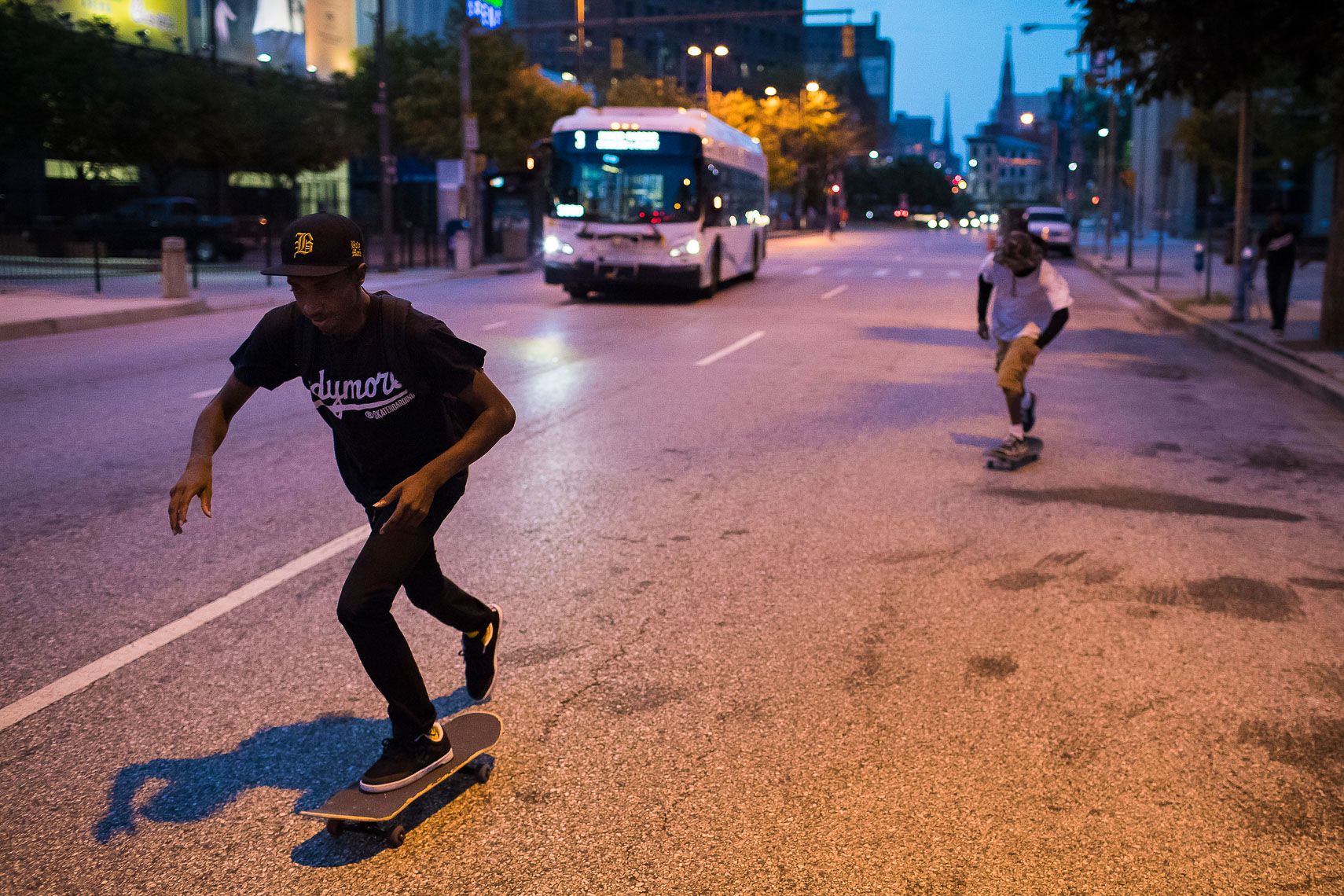 milksquad11_Milksquad was a group of African American Baltimore youth skateboarders sponsored by Milkcrate Athletics NYC who skateboard in Baltimore city youth culture documentary photography project