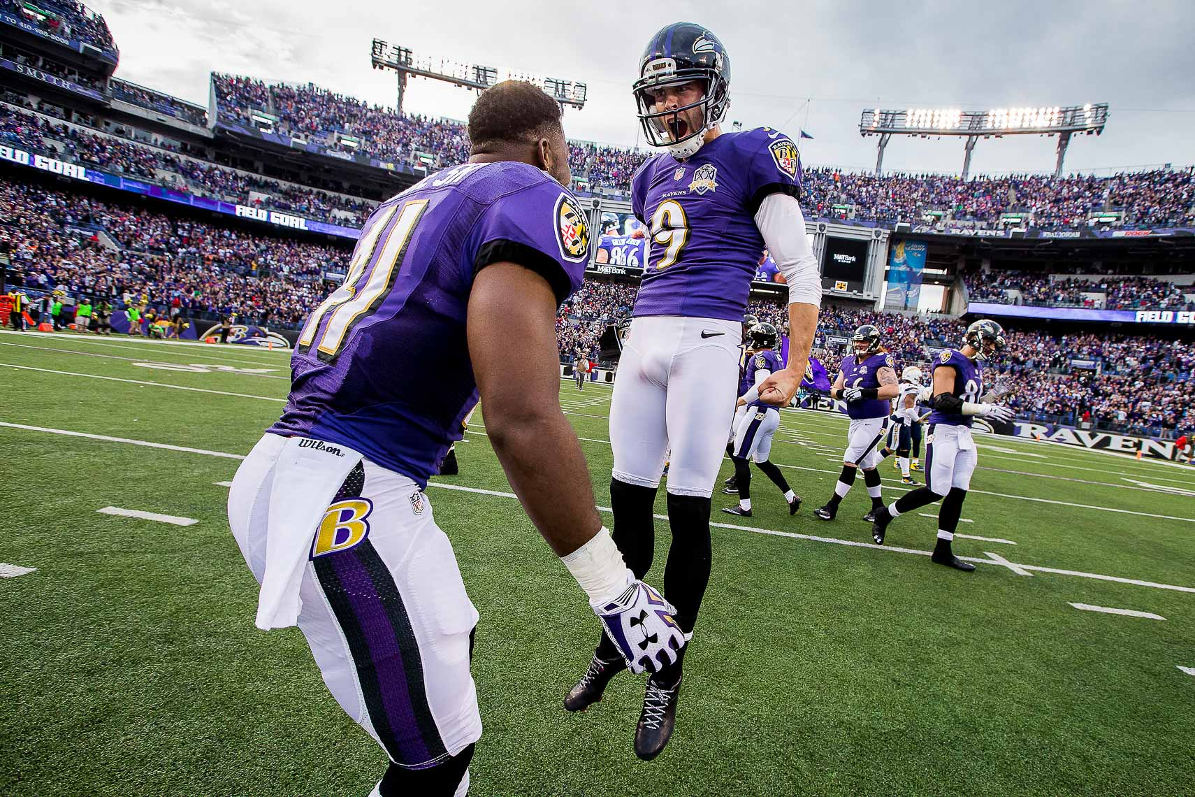ravens30  NFL Baltimore Ravens photos NFL behind the scenes documentary sports photographer photo of kicker Justin Tucker