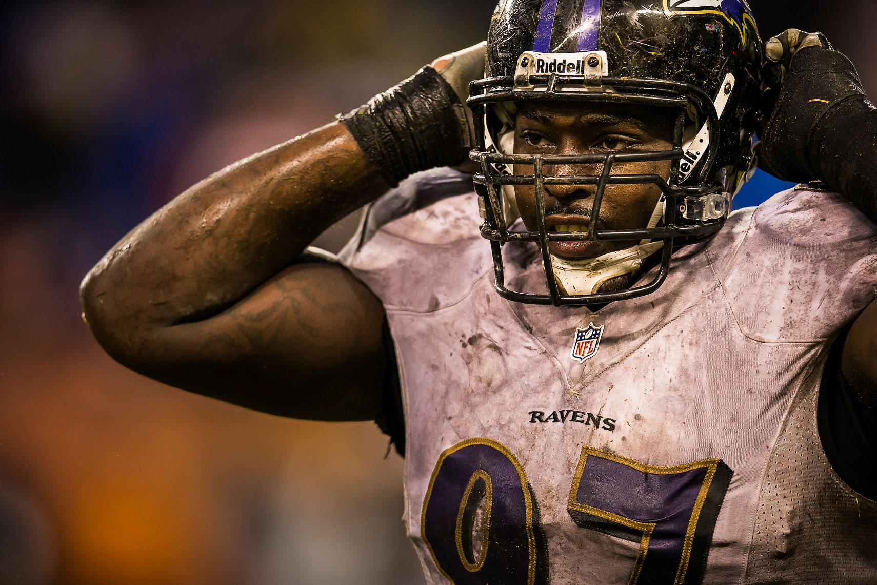 ravens31  NFL Baltimore Ravens photos NFL behind the scenes documentary sports photographer photo of Arthur Jones