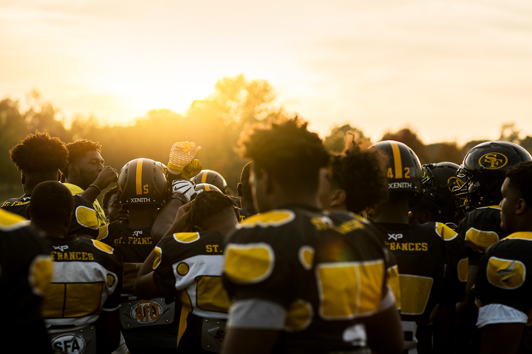 stfrances03_ St Frances Academy Panthers football Baltimore City poverty ESPN documentary MIAA Champions youth football team coached by former Gilman and Michigan football coach Biff Poggi