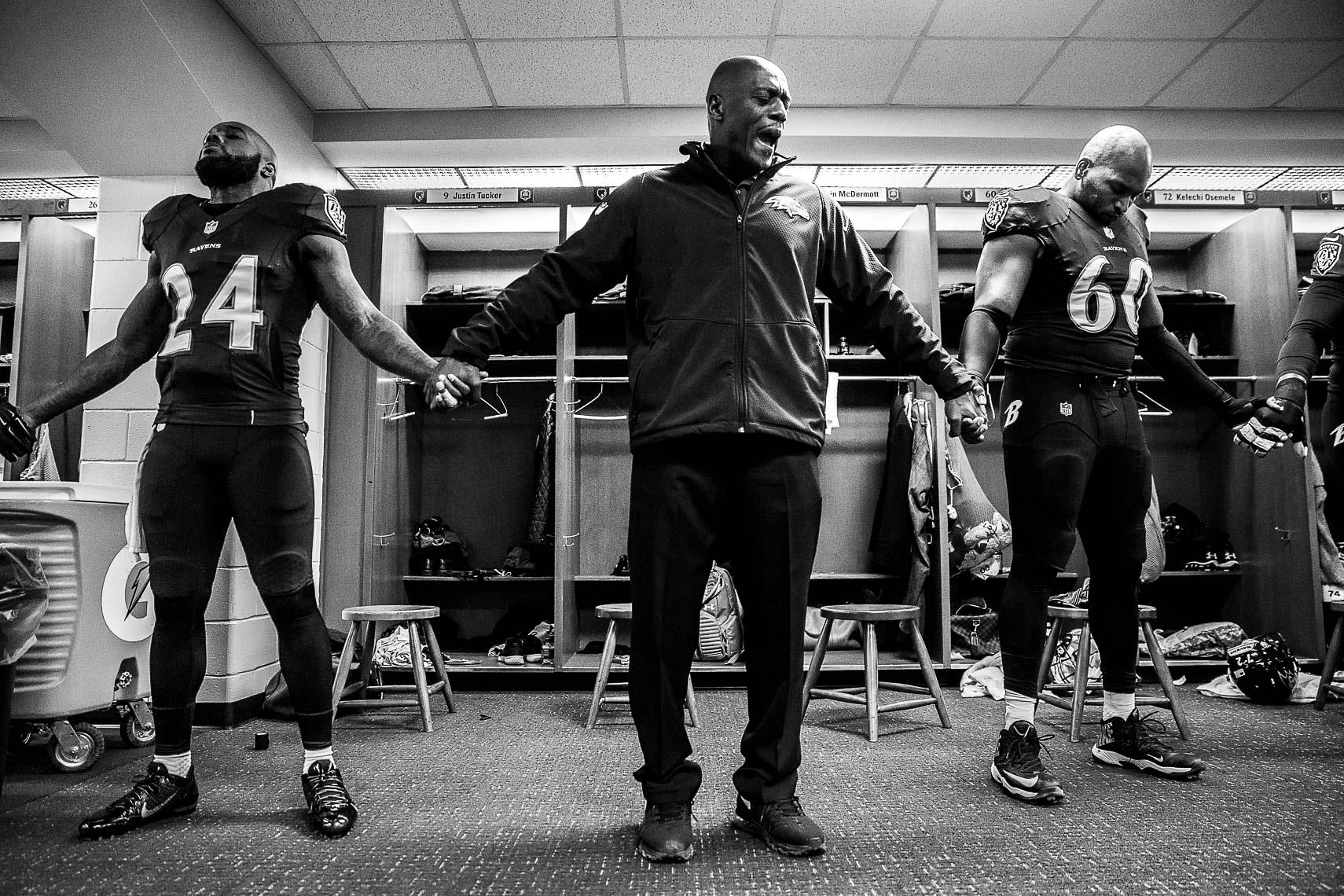 teamchaplain20_ NFL behind the scenes Baltimore Ravens team chaplain Johnny Shelton by Baltimore  area photojournalist reportage documentary sports photographer