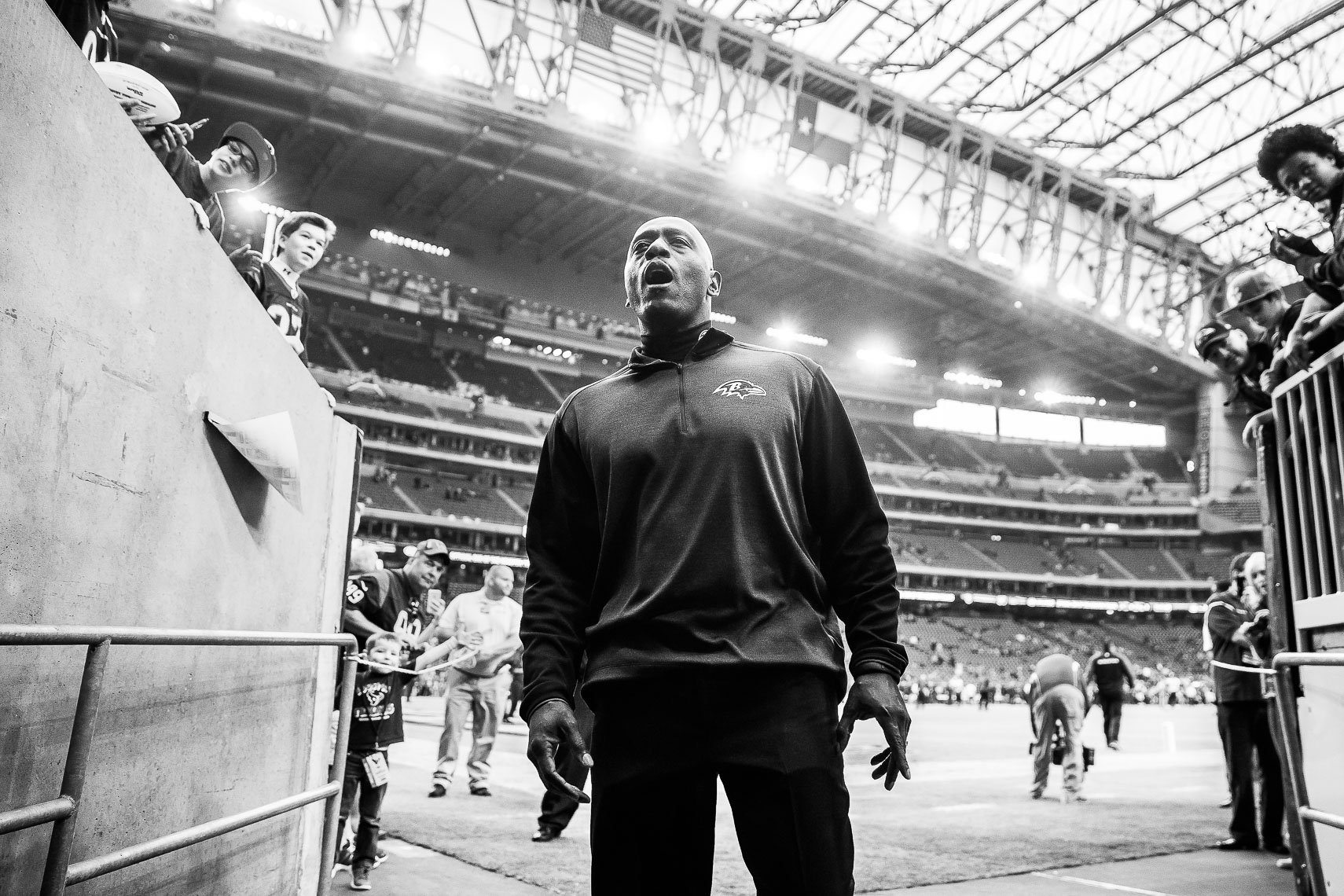 teamchaplain23_ NFL behind the scenes Baltimore Ravens team chaplain Johnny Shelton by Baltimore  area photojournalist reportage documentary sports photographer