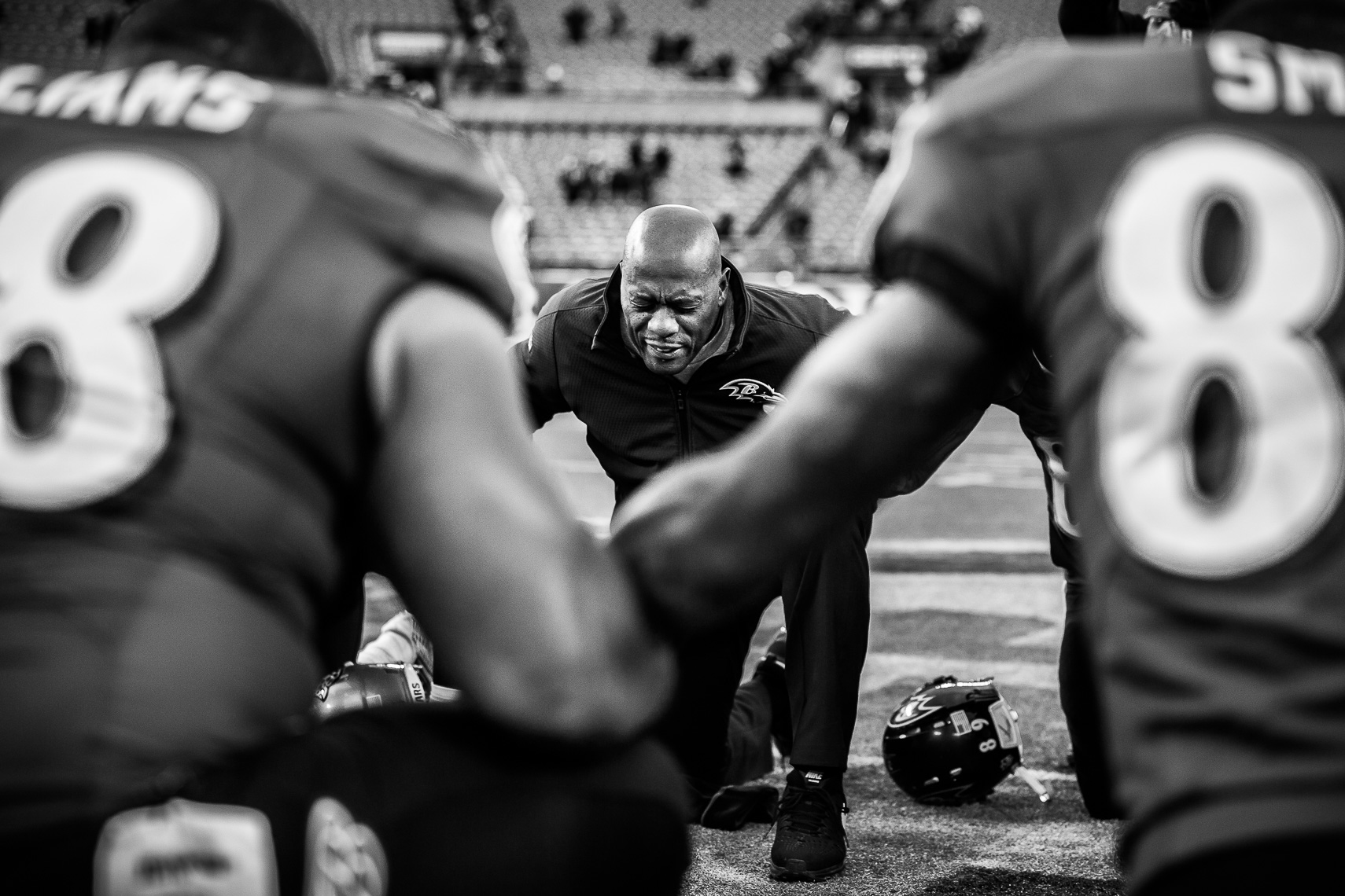 teamchaplain25_ NFL behind the scenes Baltimore Ravens team chaplain Johnny Shelton by Baltimore  area photojournalist reportage documentary sports photographer